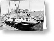 Port Greeting Card by Betsy C  Knapp