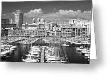 Port Parking Only Greeting Card by John Rizzuto