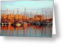 Port Vell - Barcelona Greeting Card by Juergen Weiss