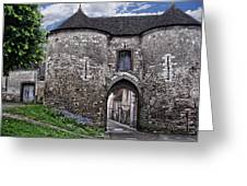 Porte Saint-jean Greeting Card by Nikolyn McDonald