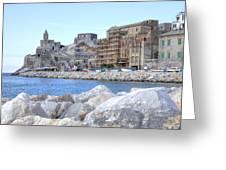 Porto Venere Greeting Card by Joana Kruse