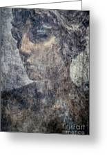 Portrait Of A Woman Greeting Card by Kathleen K Parker