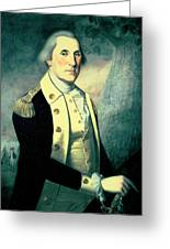 Portrait Of George Washington Greeting Card by James the Elder Peale