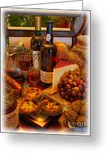 Portuguese Bounty  Greeting Card by Lee Dos Santos