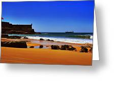 Portuguese Coast Greeting Card by Marco Oliveira
