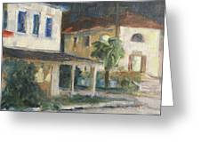 Post Office Apalachicola Greeting Card by Susan Richardson