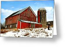 Posted No Trespassing Greeting Card by Christina Rollo
