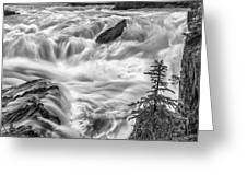 Power Stream Greeting Card by Jon Glaser