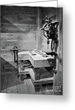 Power Tools Greeting Card by Mel Steinhauer