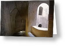 Pozzo San Patrizio/St. Patrick's Well  Greeting Card by Alan  Socolik