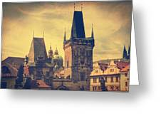 Praha Greeting Card by Taylan Soyturk