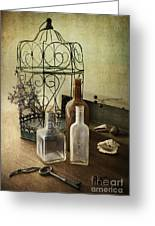 Prairie Home Treasures Greeting Card by Elena Nosyreva