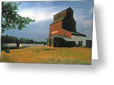 Prairie Sentinel Greeting Card by Terry Reynoldson