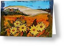 Prairie Wildflowers Greeting Card by Carolyn Doe