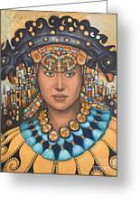 Pre-inca 3 Greeting Card by Jane Whiting Chrzanoska