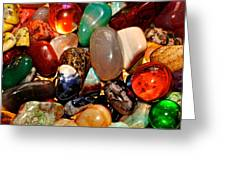 Precious Stones Greeting Card by Frozen in Time Fine Art Photography