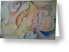 Pregnant With Desire One Greeting Card by Lynn Buettner