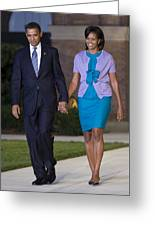 President And First Lady Greeting Card by JP Tripp