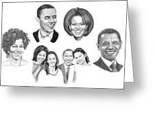 Presidential Greeting Card by Murphy Elliott