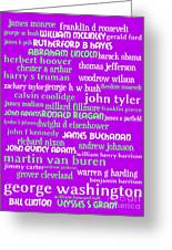 Presidents Of The United States 20130625p60 Greeting Card by Wingsdomain Art and Photography