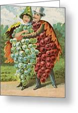 Pressed Grapes Greeting Card by Aged Pixel