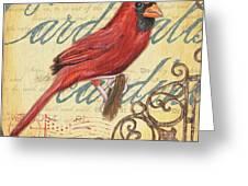 Pretty Bird 1 Greeting Card by Debbie DeWitt