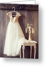 Pretty Dress Greeting Card by Amanda And Christopher Elwell