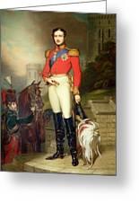 Prince Albert Greeting Card by John Lucas