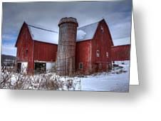 Prince Farm Greeting Card by David Simons