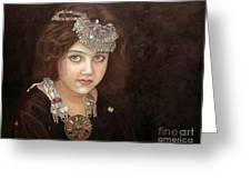 Princess Of The East Greeting Card by Enzie Shahmiri