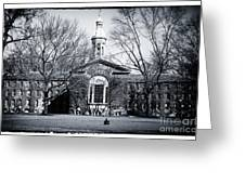 Princeton University Greeting Card by John Rizzuto
