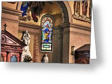Projections Of Faith Greeting Card by Gary Yost