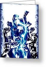 Protest The Power Greeting Card by Frederico Borges