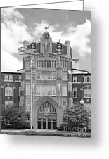 Providence College Harkins Hall Greeting Card by University Icons