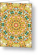 Psychedelic Pattern Greeting Card by Jose Elias - Sofia Pereira