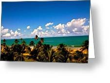 Puerto Rican Escape  Greeting Card by Danielle  Broussard