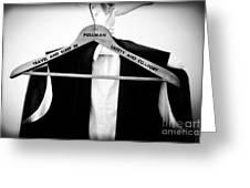 Pullman Tuxedo Greeting Card by Edward Fielding