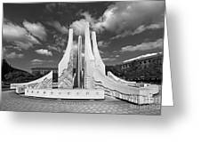 Purdue University Engineering Fountain Greeting Card by University Icons