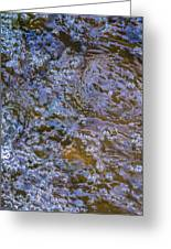 Purl Of A Brook Greeting Card by Alexander Senin