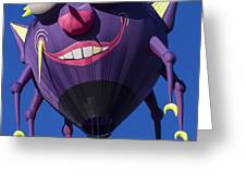 Purple people eater Greeting Card by Garry Gay