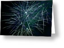 Pyrotechnic Delight Greeting Card by John Stephens