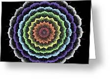 Quan Yin's Healing Greeting Card by Keiko Katsuta