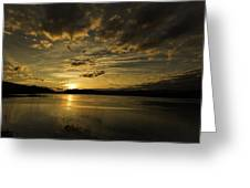 Queen Charlotte-haida Gwaii-sunset-1 Greeting Card by Evan Spellman