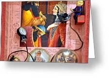 Queen Esther Greeting Card by Nekoda  Singer