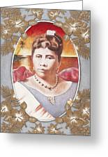 Queen Lili'uokalani Greeting Card by Alan Fine