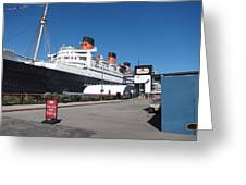 Queen Mary - 12123 Greeting Card by DC Photographer