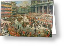 Queen Victorias Diamond Jubilee, 1897 Greeting Card by G.S. Amato