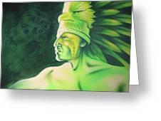 Quetzal Greeting Card by Robert Martinez