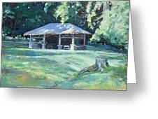 Quiet Resting Place Greeting Card by Sandra Harris