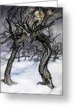 Rackham: Whisper Trees Greeting Card by Granger